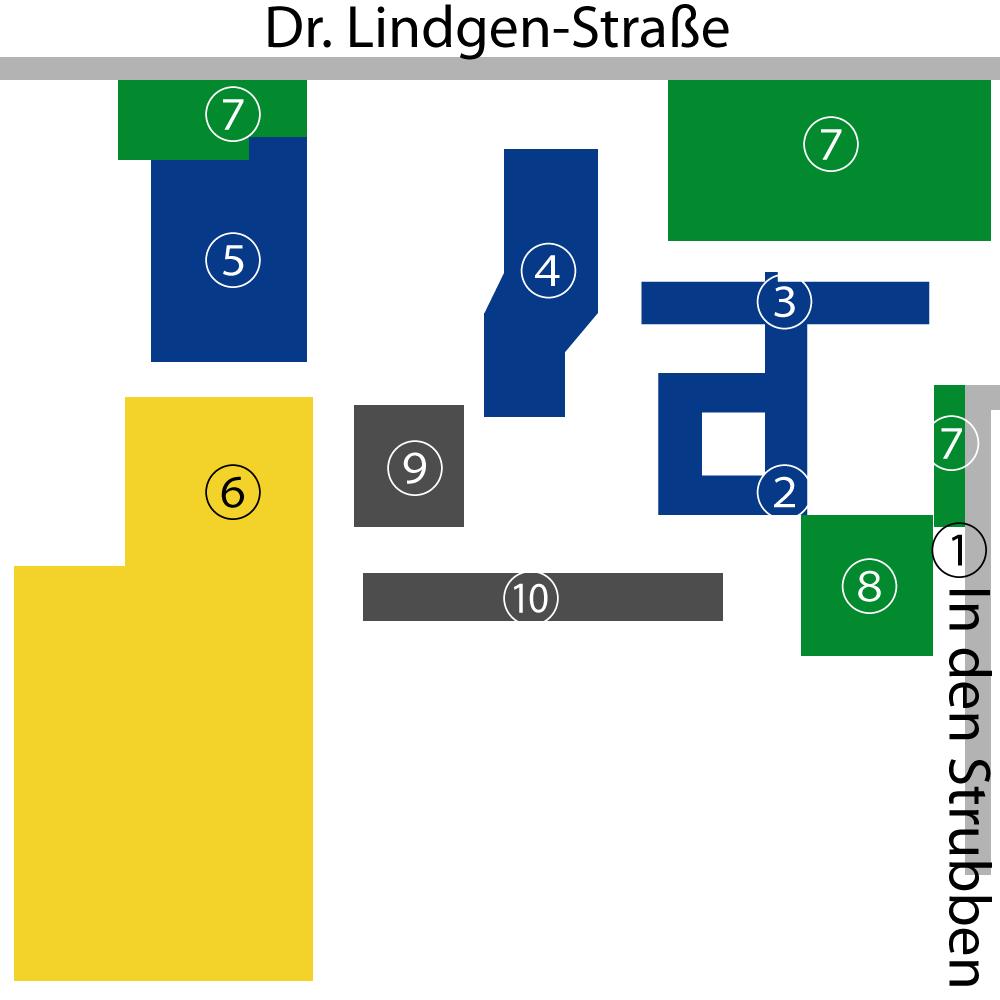 Raum- und Gebäudeplan